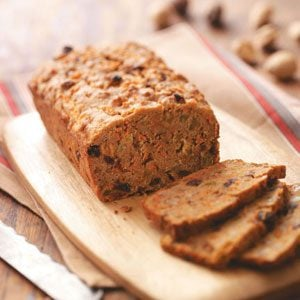 Raisin Whole Wheat Quick Bread