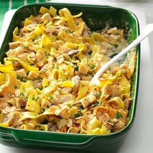 Herbed Turkey Tetrazzini