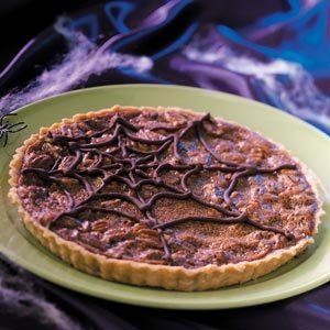 Dark Side Chocolate Caramel Tart