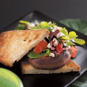 Mediterranean Salad Sandwiches