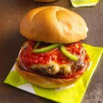 Grilled Italian Meatball Burgers