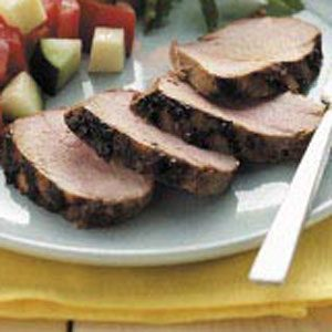 Easy Grilled Pork Tenderloin