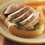 Open-Faced Portobello Sandwiches