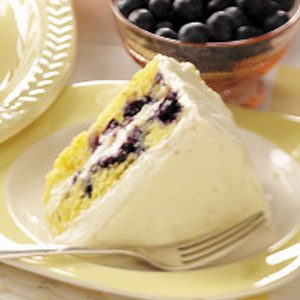 Blueberry Citrus Cake
