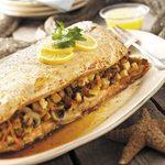 Grilled Stuffed Salmon