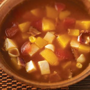 Curry Chicken Pumpkin Soup