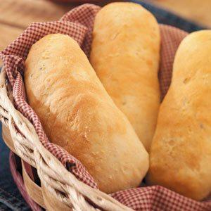 Garlic Hoagie Rolls