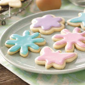 Pastel Tea Cookies