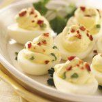 Cream Cheese Deviled Eggs