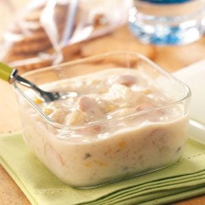 Hot Dog Potato Soup