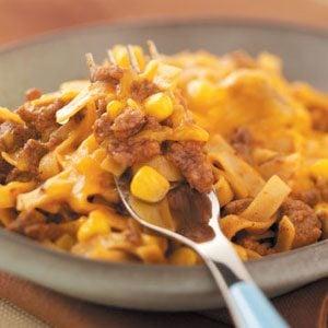 Beef Fettuccine Dinner