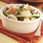Potatoes with Mushrooms 'n' Peas