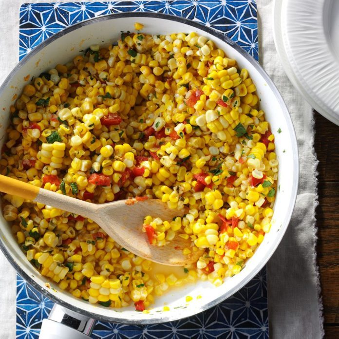 Inspired by: California Pizza Kitchen's Mexican Street Corn