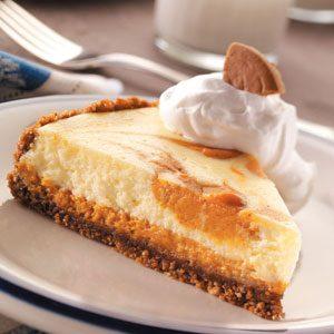 Snappy Pumpkin Cheesecake