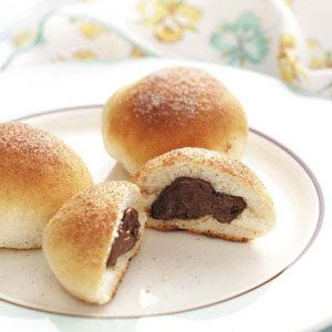 Chocolate Biscuit Puffs