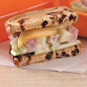 Fruity Ham Sandwiches