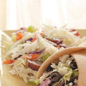 Fresh and Fruity Coleslaw