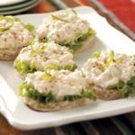 Crab Salad Tea Sandwiches