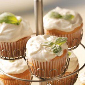 Lemon Basil Cupcakes