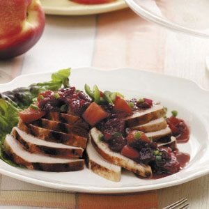 Grilled Chicken with Chutney