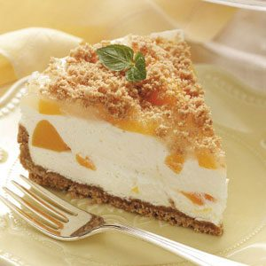 Peaches and Cream Torte