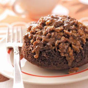 Almond Chocolate Cakes