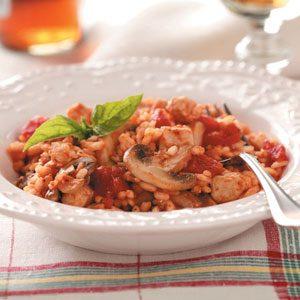 Chicken & Tomato Risotto