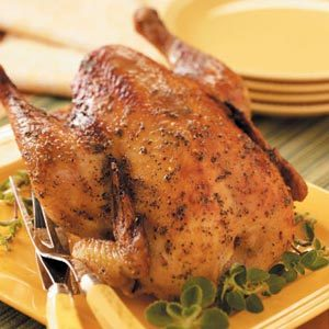 Oregano Roasting Chicken