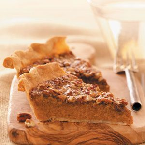 Makeover Sweet Potato Pecan Pie