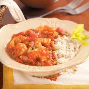 Spicy Shrimp Creole