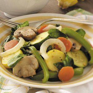 Colorful Veggie Saute
