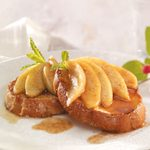 French Toast with Apple Topping