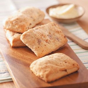 Bacon-Apple Cider Biscuits