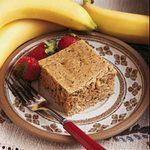 Sugarless Banana Walnut Cake