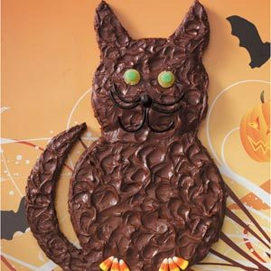 Black Cat Brownie
