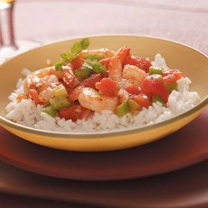 Creole Shrimp & Rice