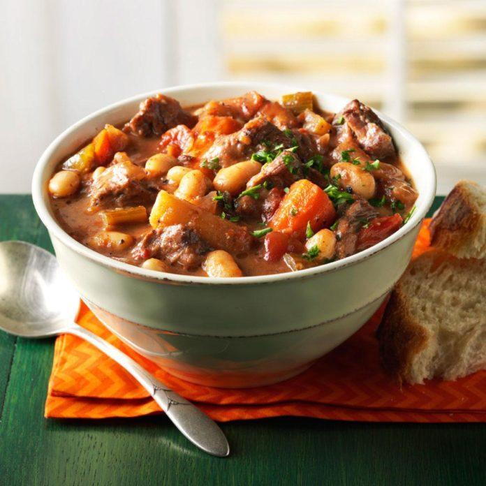 Winter: Wintertime Braised Beef Stew
