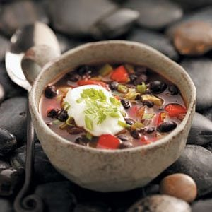 Contest Winning Black Bean Soup Recipe Taste Of Home