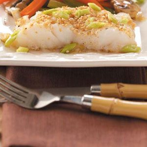 Asian Sesame Cod Recipe How To Make It Taste Of Home
