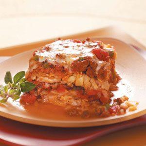Italian Cabbage Casserole