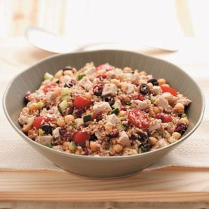 Turkey & Bulgur Salad