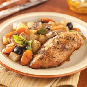 Chicken Breasts with Veggies