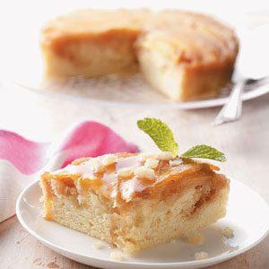 Mango-Macadamia Upside Down Cake
