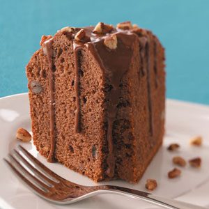Chocolate-Cola Pound Cake