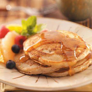 Egg-Free Spiced Pancakes