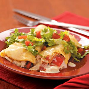 Club-Style Turkey Enchiladas