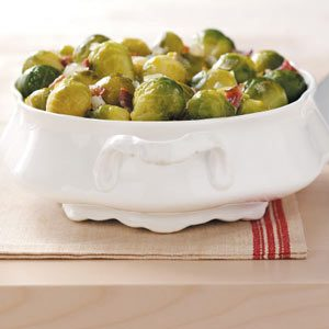 Sweet & Sour Brussels Sprouts
