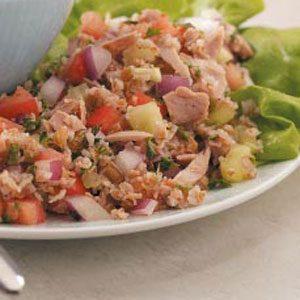 Tuna Tabbouleh Salad