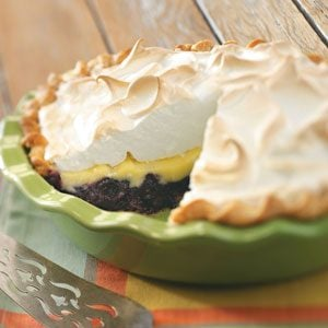 Blueberry Custard Pie
