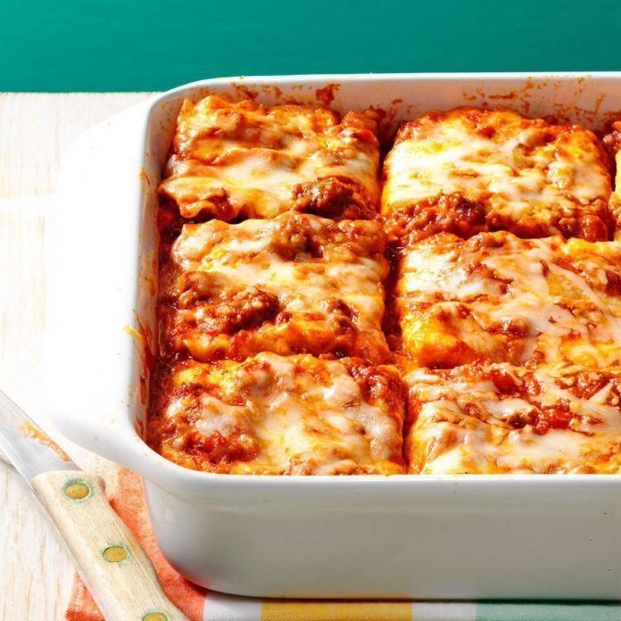 Make Once, Eat Twice Lasagna
